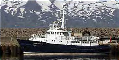 The Clipperton Project will be chartering the charter yacht Hans Hansson for their visit to South Georgia.