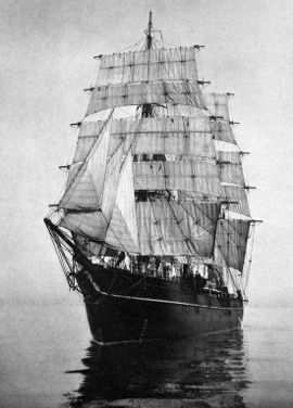 "Captain Scott's old ship, the ""RRS Discovery"", was the first ship used for the 'Discovery Investigations'."