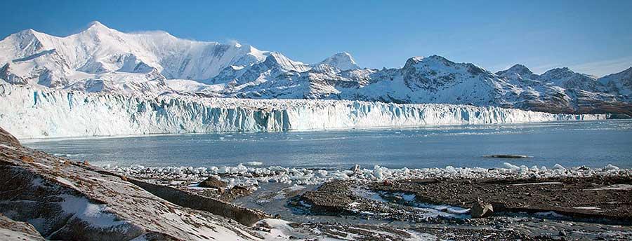 South Georgia glacier