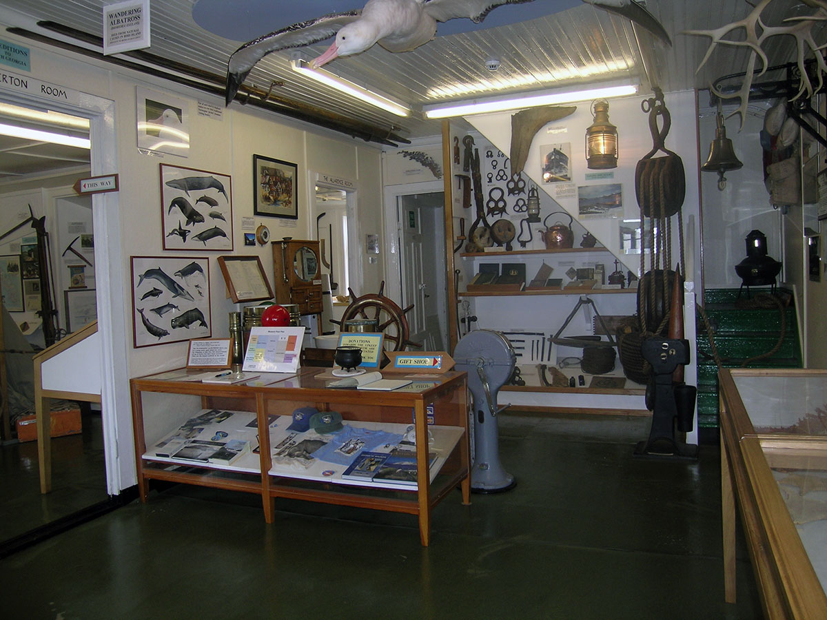 Bonner Room, South Georgia Museum