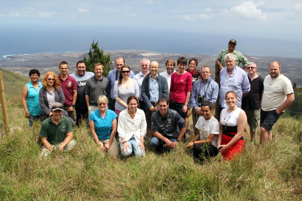 Biosecurity workshop participants. Photo: Stewart Guy.