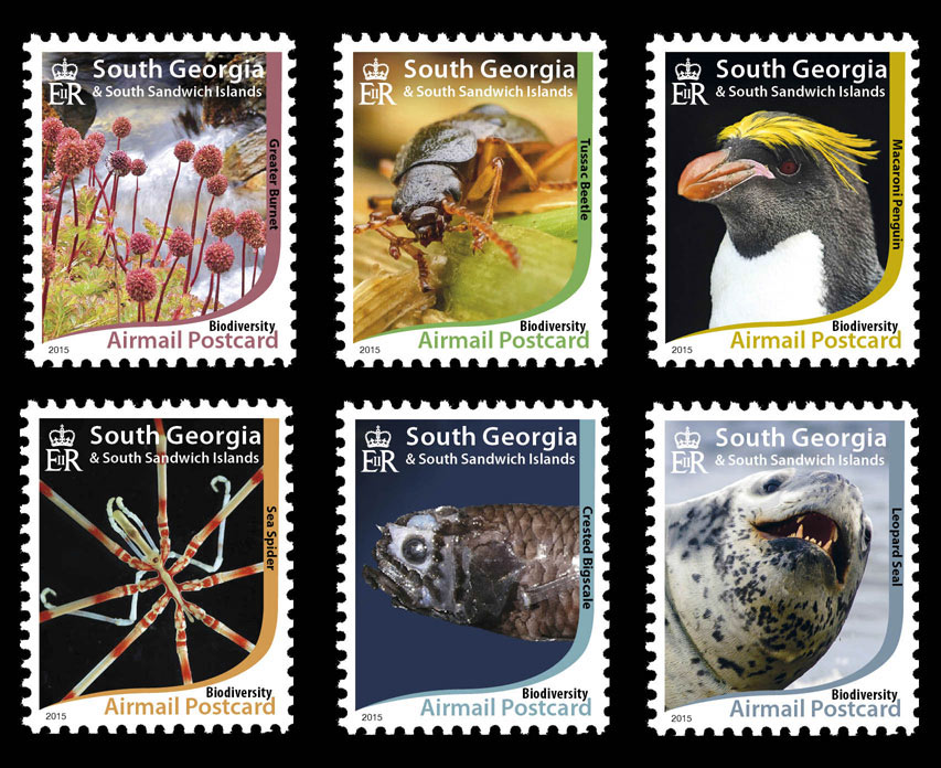 Convention on Biological Diversity SGSSI Stamp Set