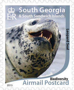 Leopard-seal Stamp