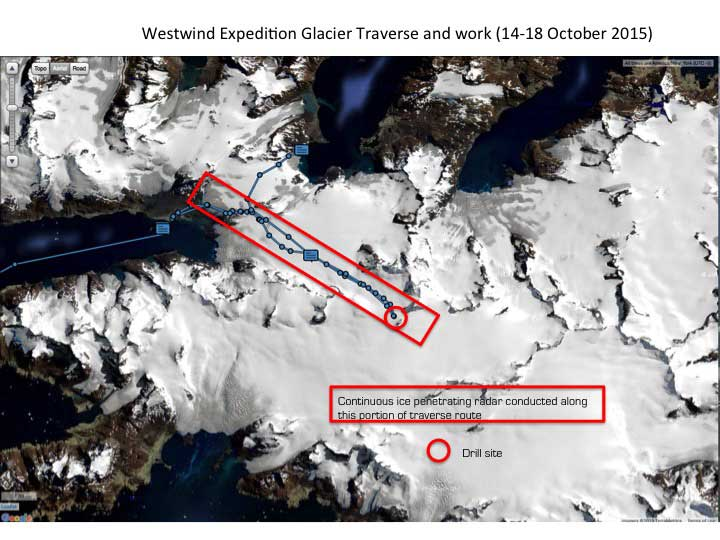 Westwind Traverse Map