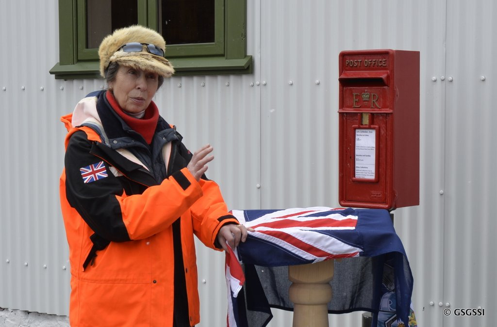 Her Royal Highness The Princess Royal officially opens new Post Office.