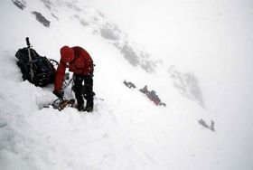 The 'Beyond Endurance' expedition experienced difficult conditions during the crossing. Photo 'Beyond Endurance'.