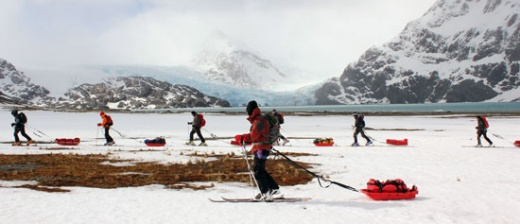 The 'British Shackleton Expedition' start out from King Haakon.