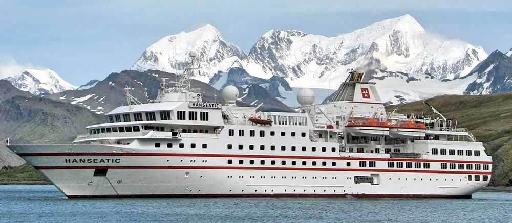 South Georgia Cruise Ship