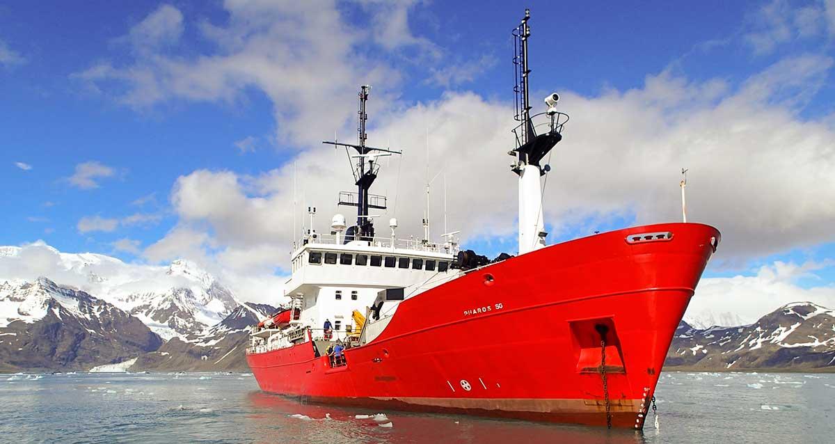 Fisheries protection vessel Pharos SG.