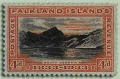 Early South Georgia Stamp